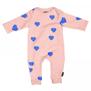 Clay Heart jumpsuit logo