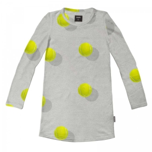 Tennisballs ls dress logo