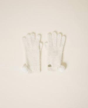 guanti avorio logo