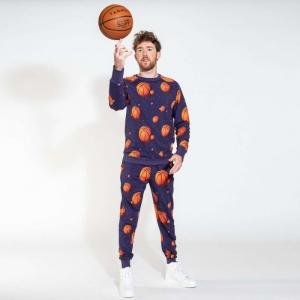 basketball man logo